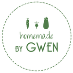 Logo de Homemade by Gwen, coachings alimentaires et recettes healthy
